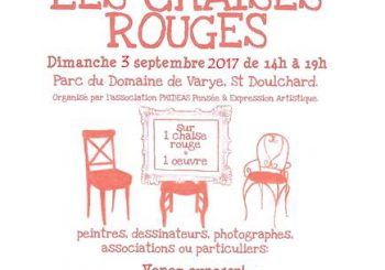 les chaises rouges