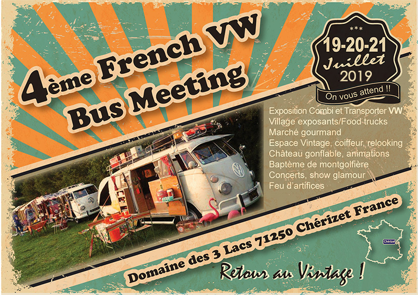 The French VW Bus Meeting 2019