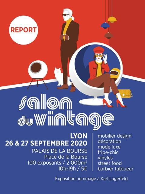 Salon du Vintage Lyon 2020