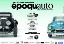 Epoqu'auto : du 6 au 8 novembre 2020 à Lyon